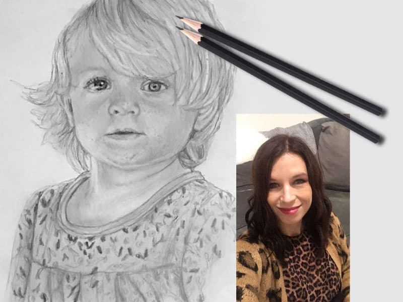 mobile pencil portrait artist