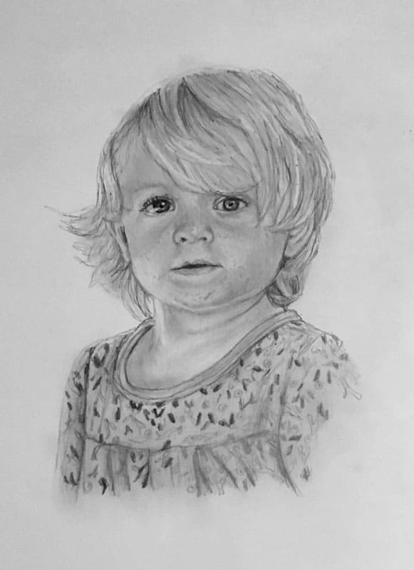 people portrait young girl