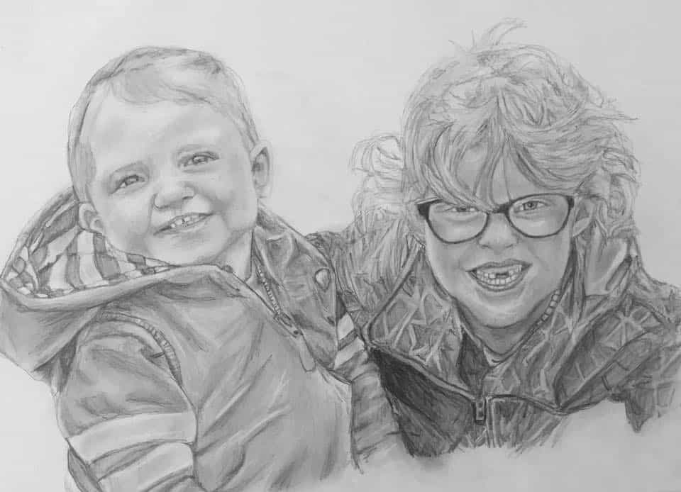 people portrait of two boys